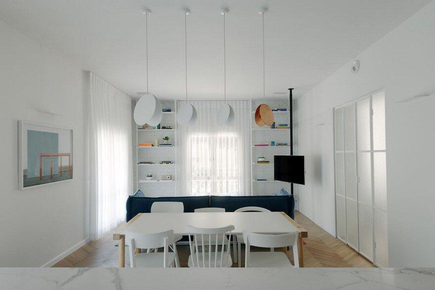 Family Apartment Renovation in a Preserved Bauhaus Building, Tel Aviv 10