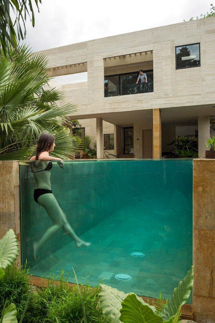Jardin house in medellin by laboratorio de arquitectura y - Paisajes de jardines ...