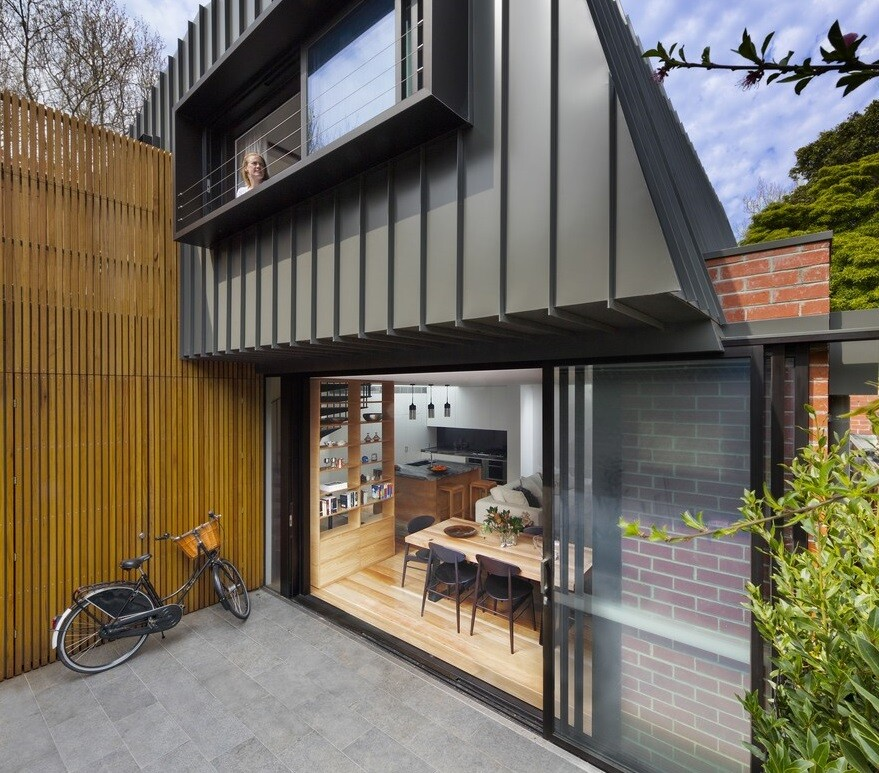 Modern Addition to an Old Edwardian House by Mcmahon and Nerlich