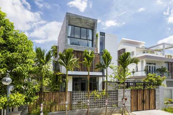 Modern Vertical Home Maximizes Light And Space In Nha Trang Vietnam