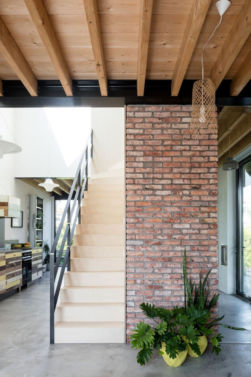 Old Brick House Replaced by a New Sustainable Timber House ...