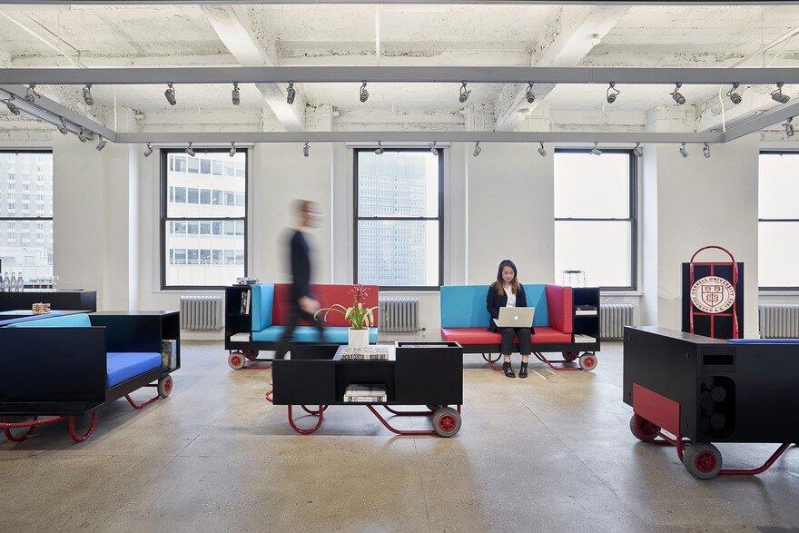 Pushcart furniture series for cornell university new york - Cornell university interior design program ...