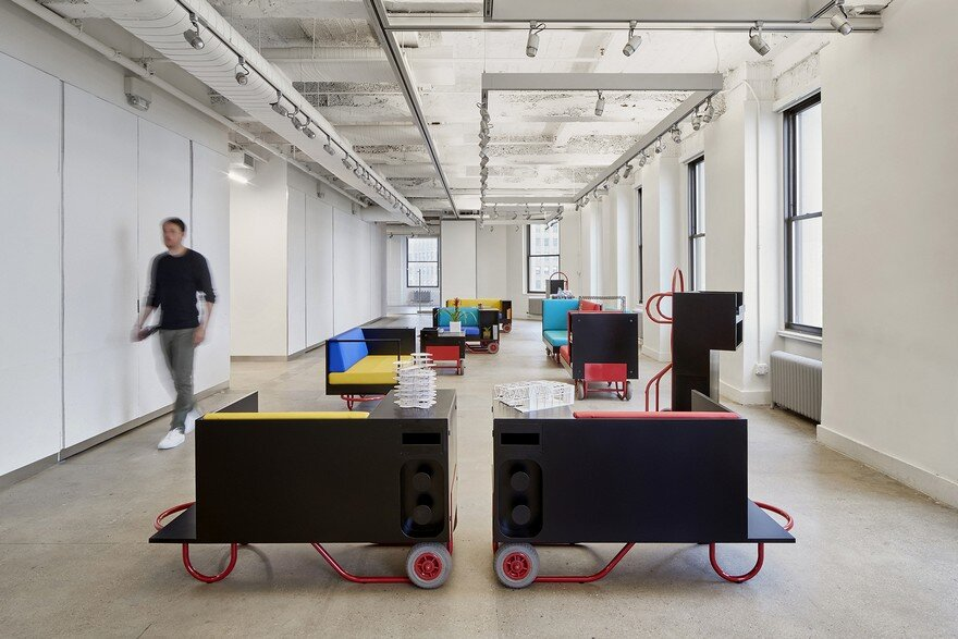 Pushcart furniture series for cornell university new york for Chair in engineering design university of toronto