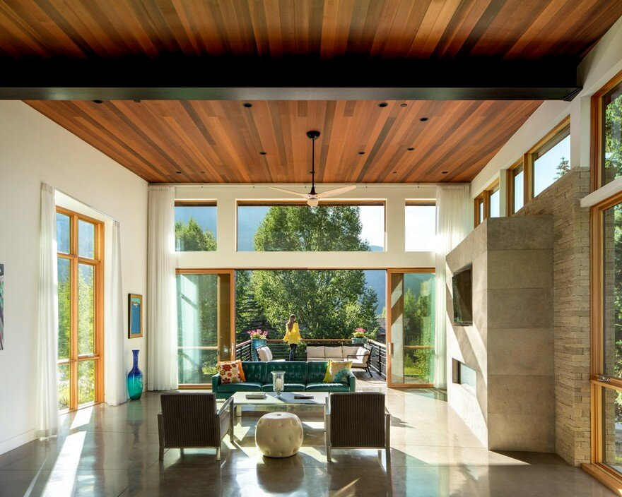 Schultz House Impressive Architecture And Delighting Interior Design In Colorado