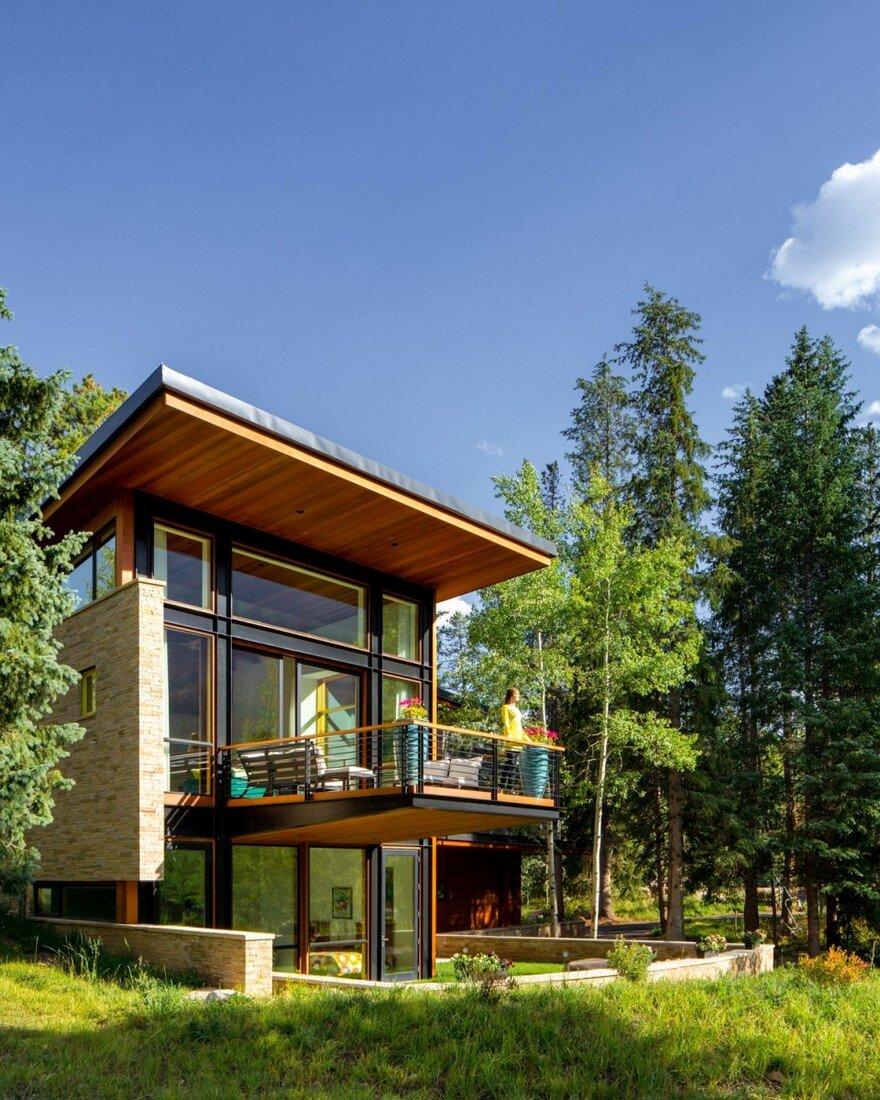 Schultz house impressive architecture and delighting interior design in colorado 1