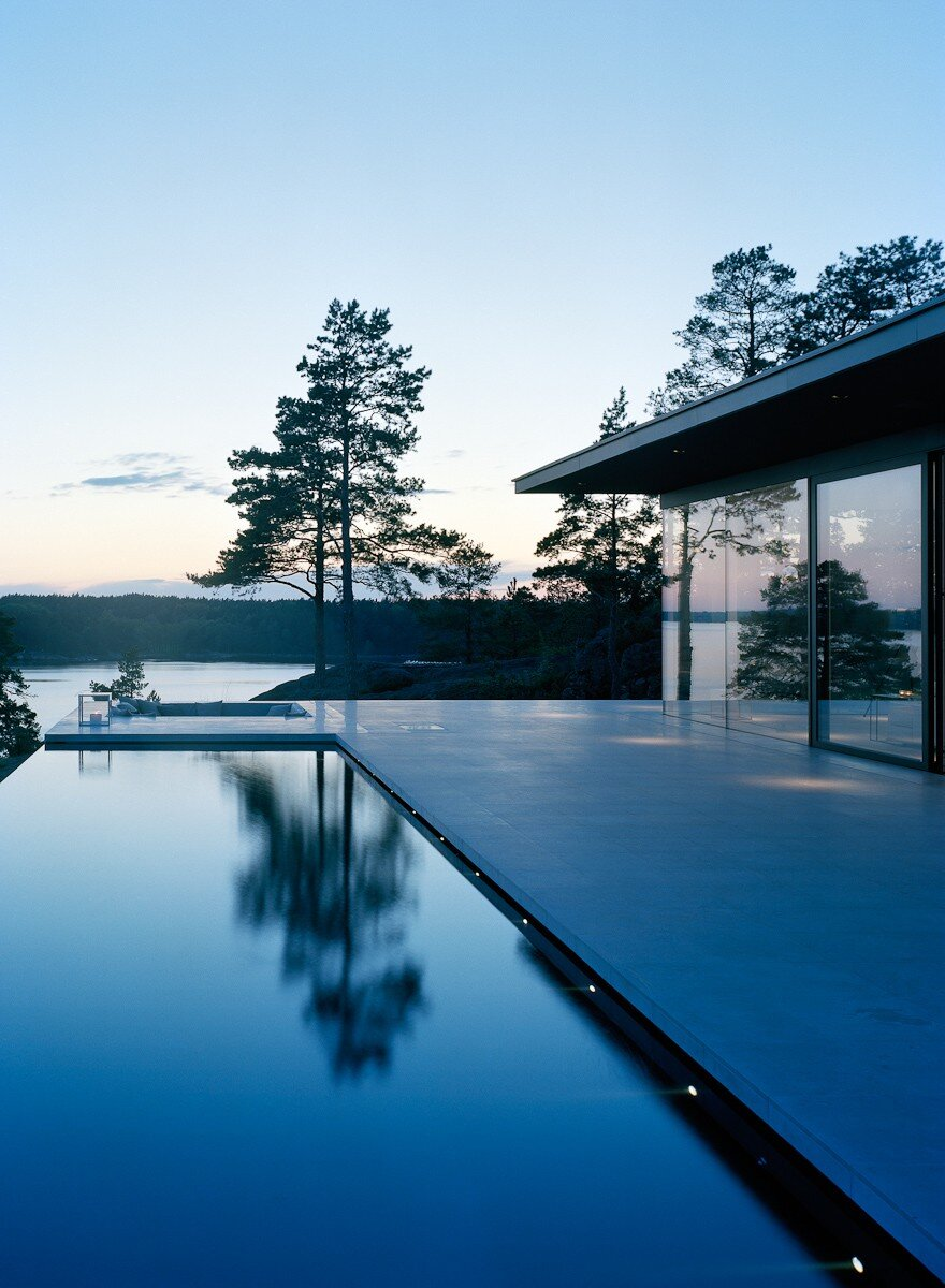 The Glass House In Stockholm Archipelago John Robert