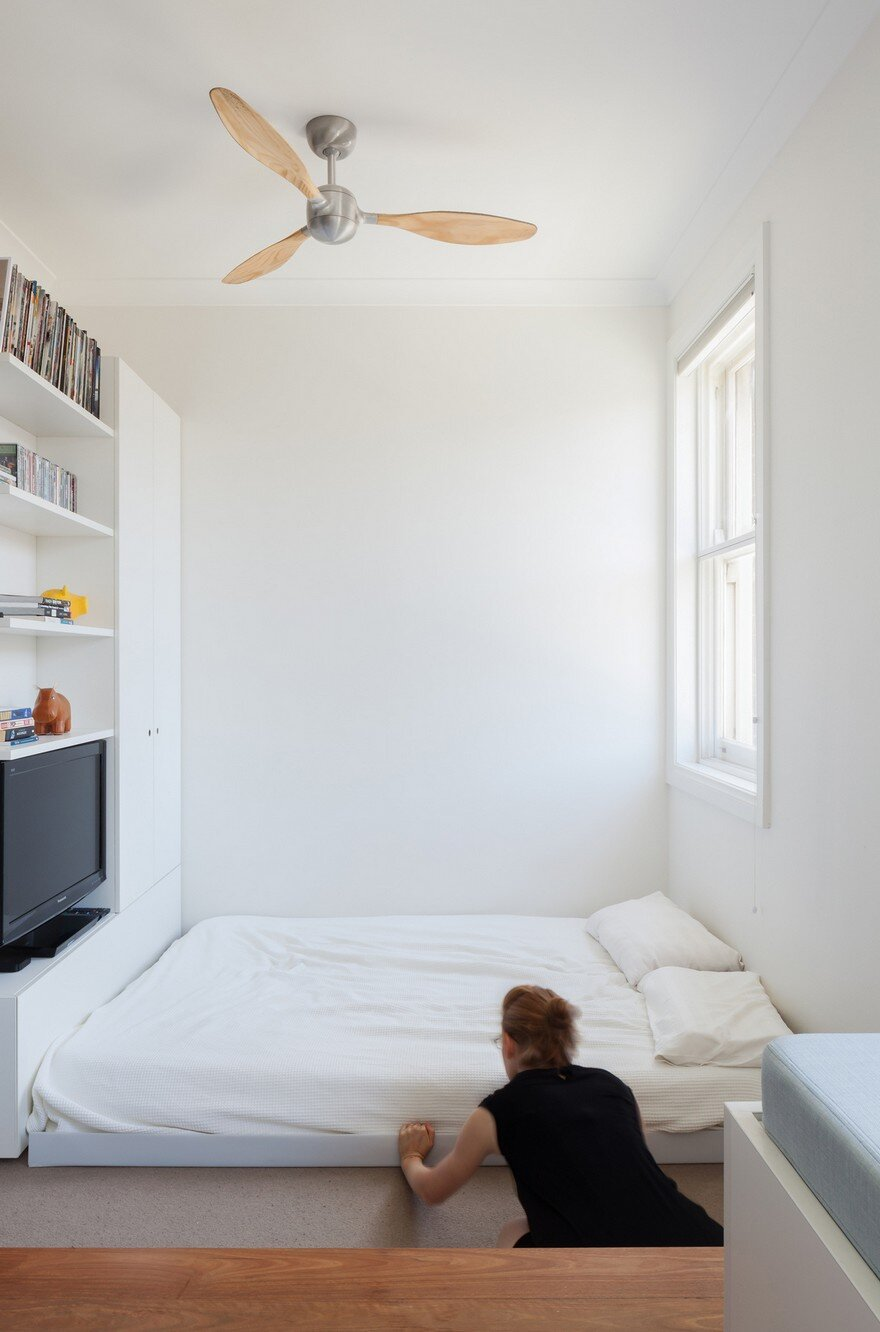 Micro Apartment In Sydney Displaying An Optimized 22 Sqm