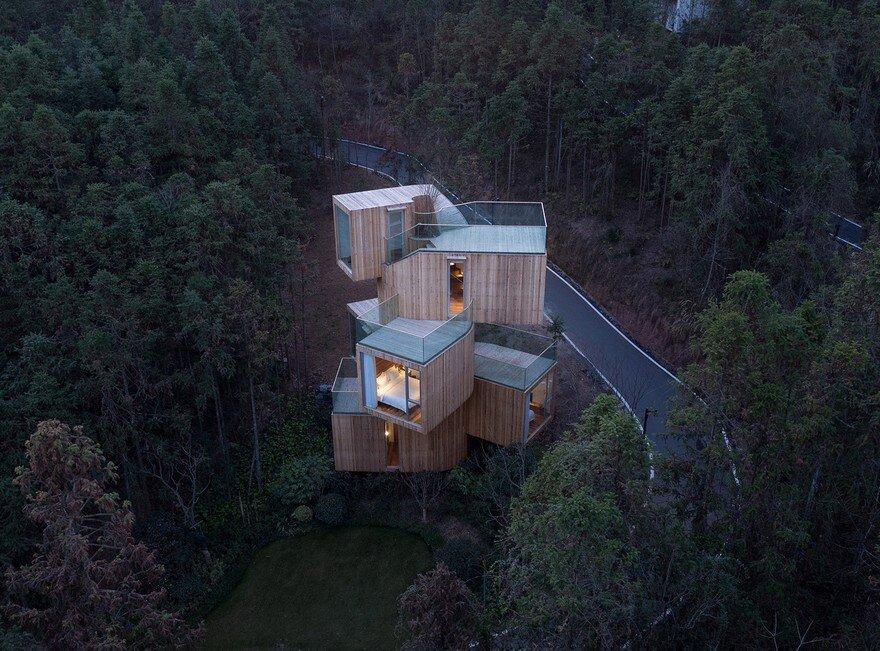 Tree House Hotel in China – Qiyunshan by Bengo Studio