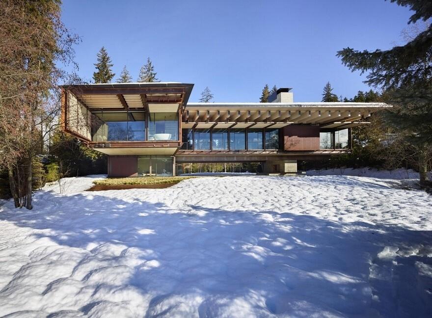 Whistler Ski Retreat by Olson Kundig Architects