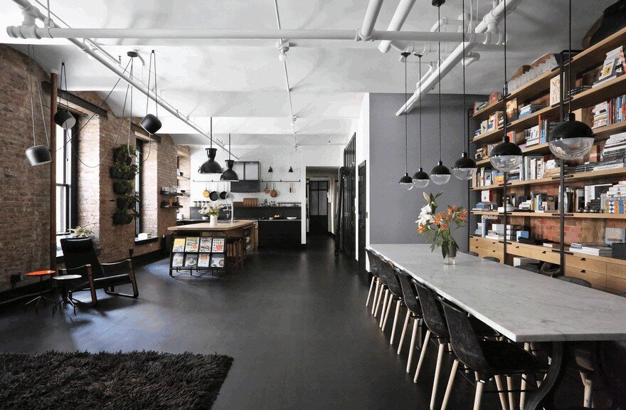 1903 noho factory converted into industrial loft style home - Loft design industriel cloud studio ...