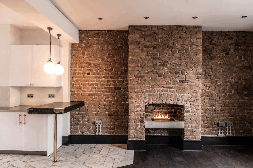 Blenheim Crescent Apartment in London by Cubic Studios