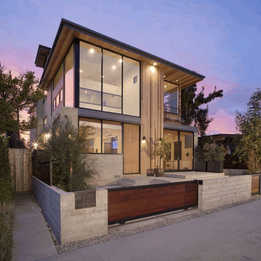 Inform California House Design: California Beach House Remodeled And Extended By Mayes Office