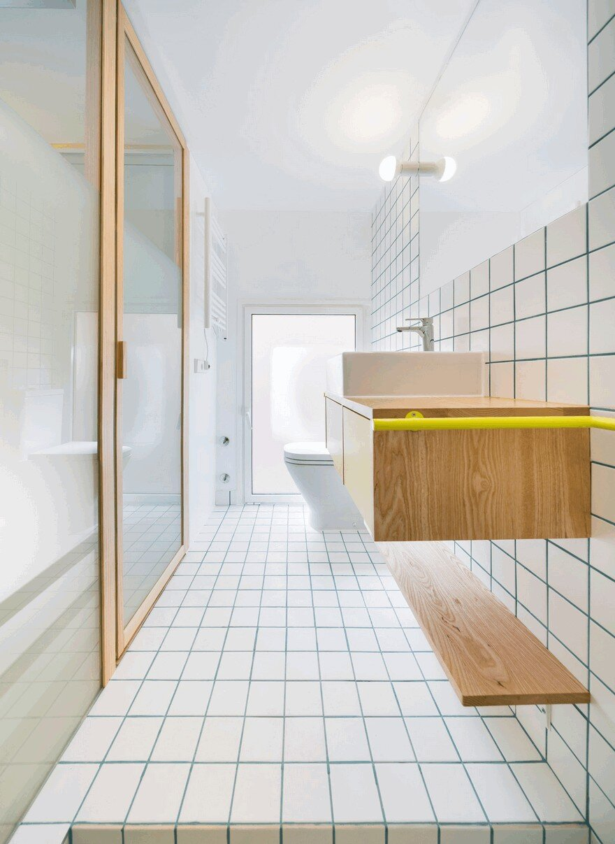 Complete reform of a 34 square meters apartment in for 10 square meters room