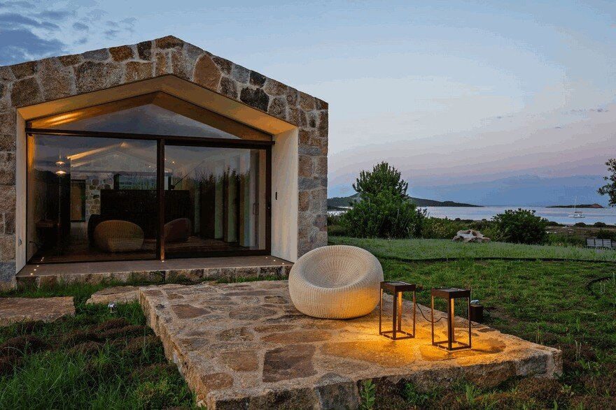 Contemporary Stone House Inspired by the Old Rural Buildings of Sardinia