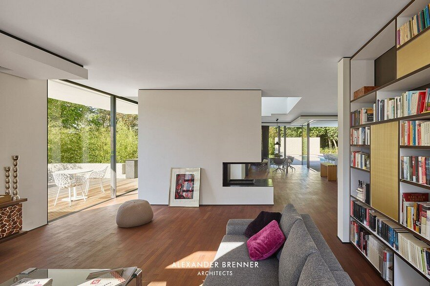 Haus Am Wald Residence In Stuttgart / Alexander Brenner Architects 12