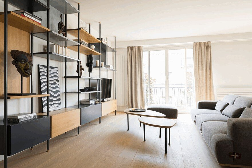 Interior Refurbishment of an Apartment in Neuilly-sur-Seine, Paris