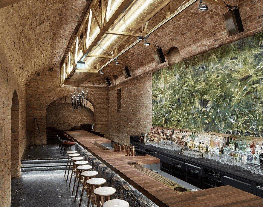 Krypt Bar Wien / Archeology in a Jazz Club