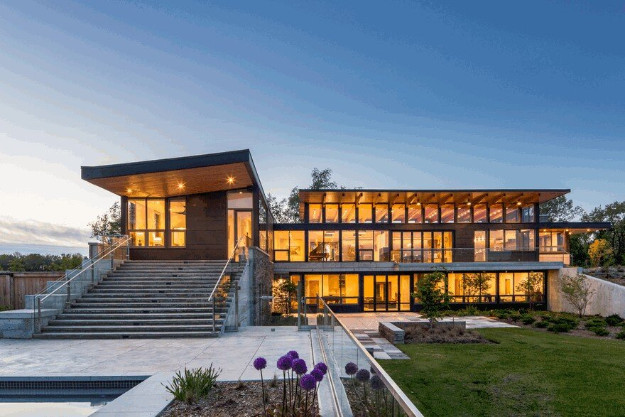 Millgrove House by Toms + McNally Design