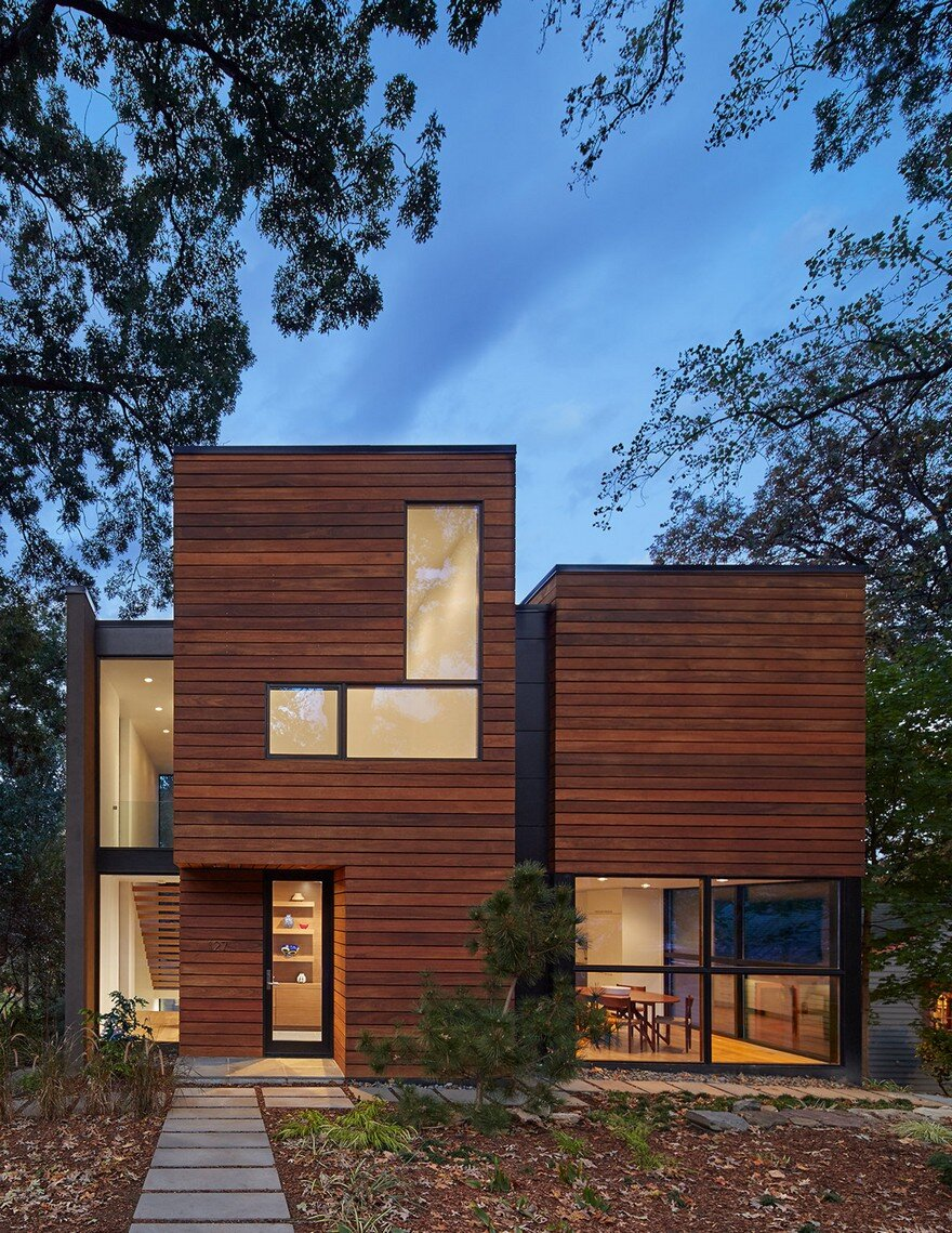 Modern home design in virginia showcasing elegance and warmth for Contemporary homes in virginia