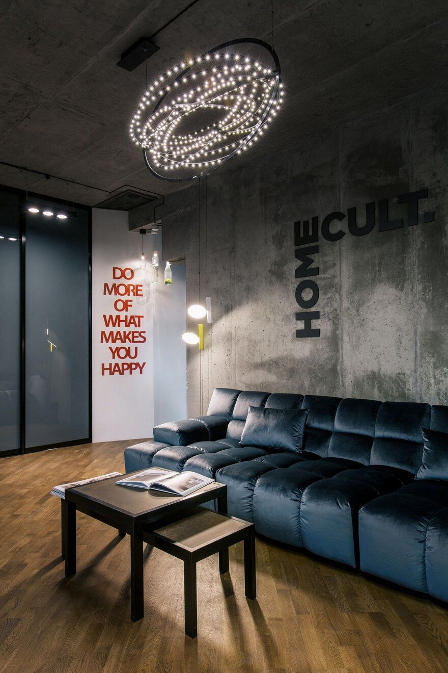 Modern Office Interior In Kyiv Ukraine Homecult Office