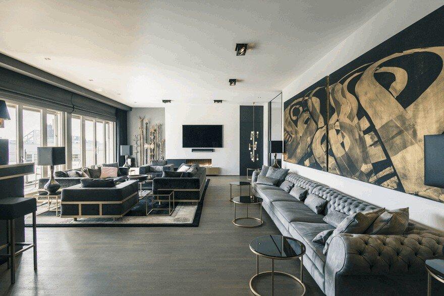 Monbijou Penthouse in Berlin-Mitte, Germany