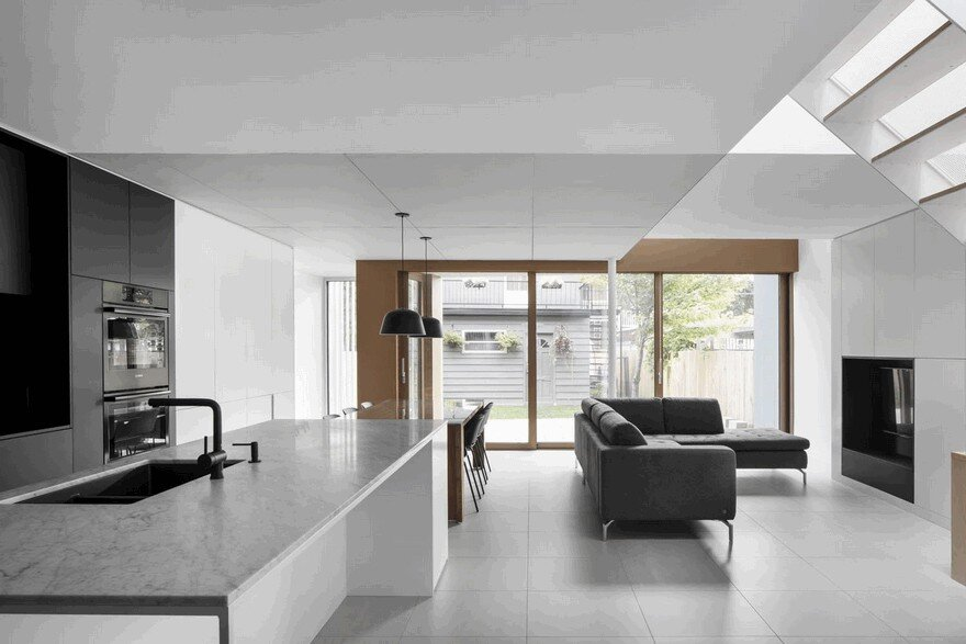 Montreal Duplex House Gets Contemporary Upgrade