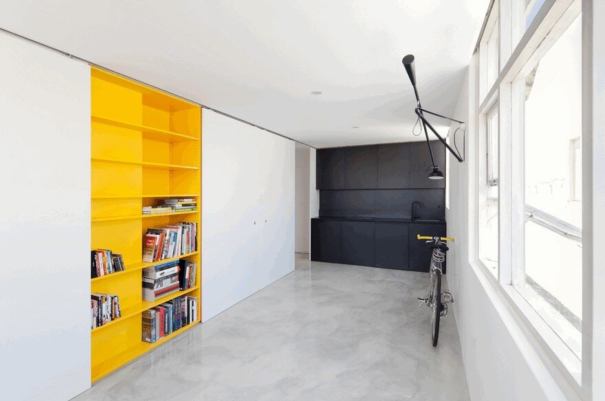 One room apartment in sydney displaying an optimized 27sqm for Apartment design sydney