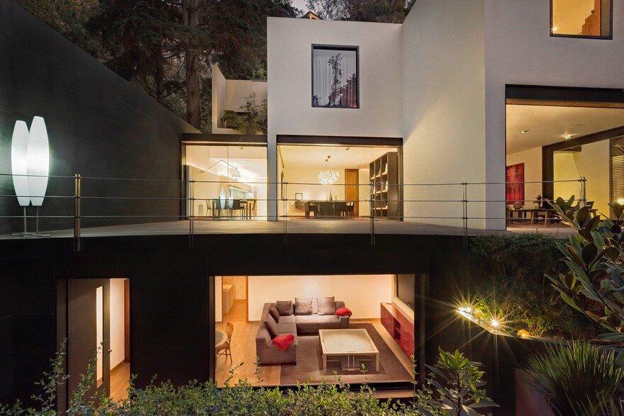 Private Contemporary Home In Mexico Showcasing Bright