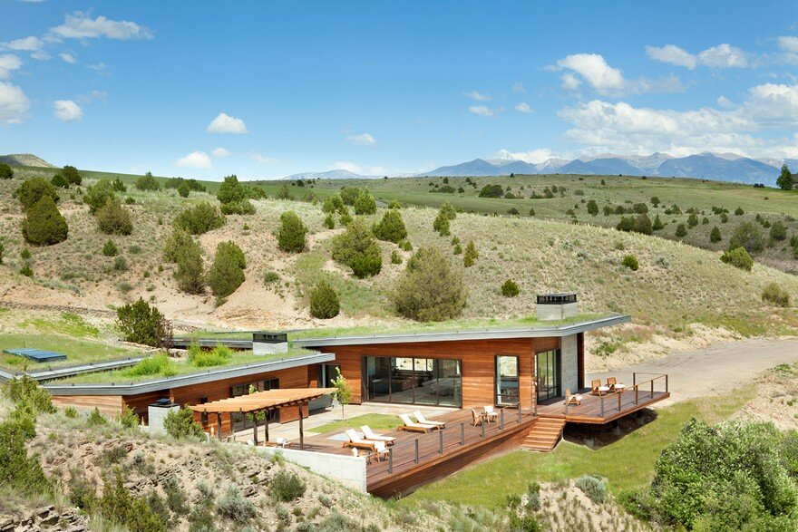 Studio H Home Design Part - 48: Riversbend Retreat In Montana / Studio H Design 1