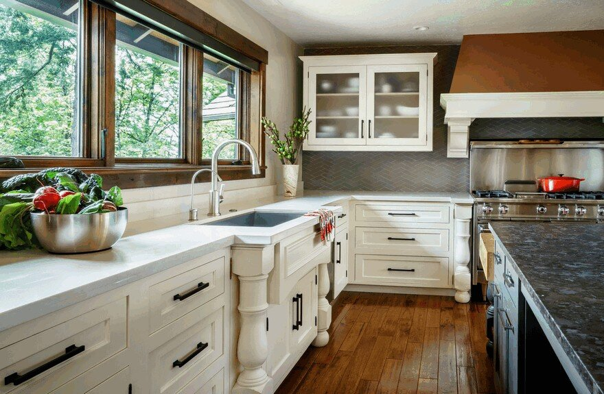 Traditional 1950s Ranch Home Remodeled by Garrison Hullinger