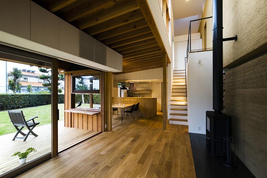 Tukurito Architects Designed the Arakabe House Using Traditional Japanese Construction Methods
