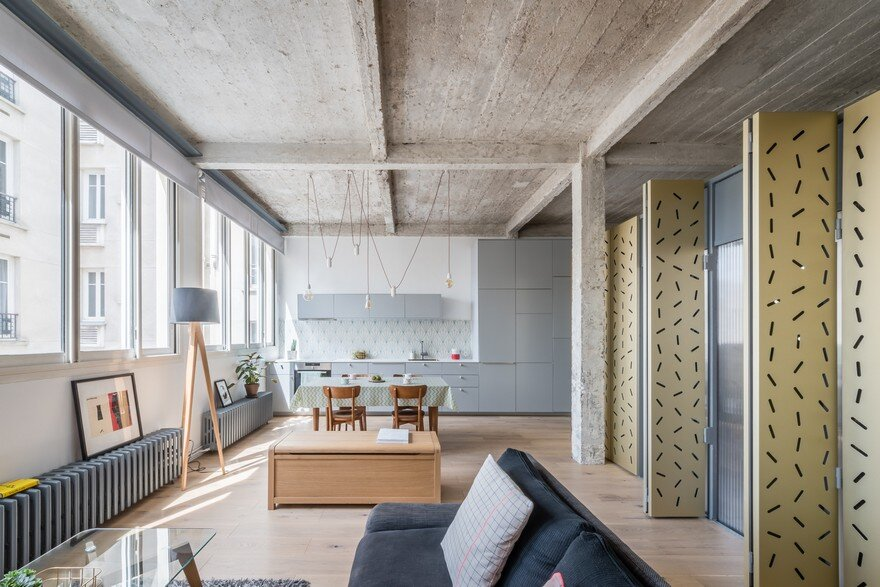 Voltaire Apartment in Paris by SABO Project