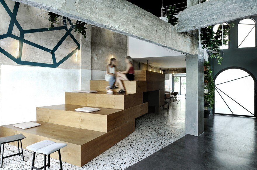 Black Drop Coffee Shop in Kavala, Greece / Ark4lab of Architecture