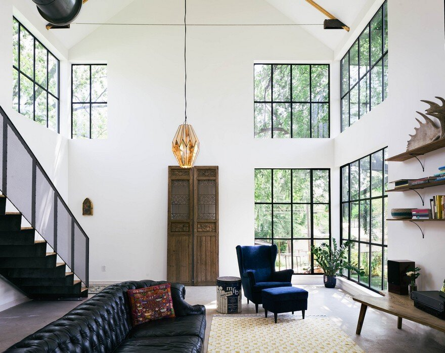 This East Austin Home Combines Modern and Rustic Details