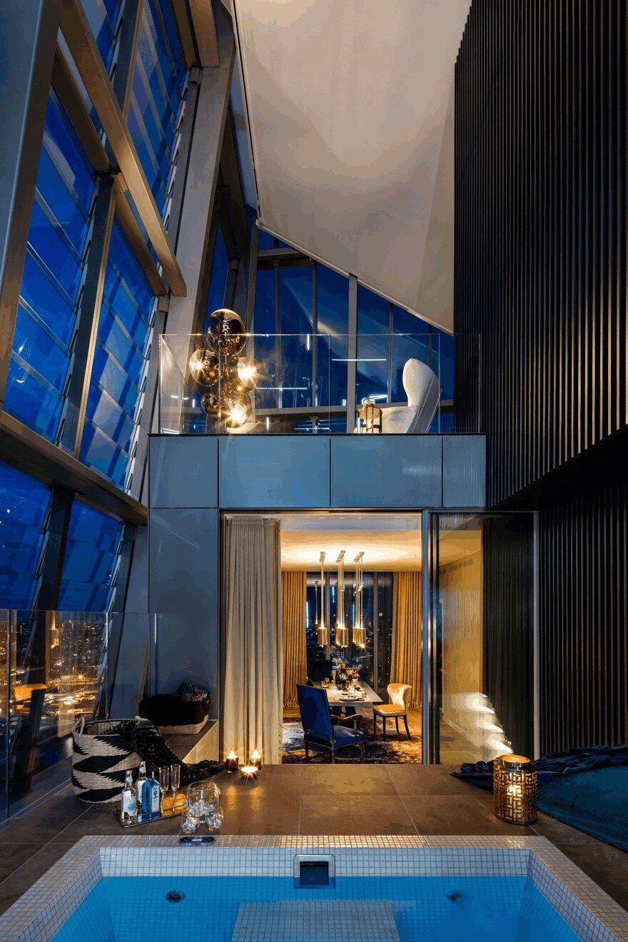 Dollar Bay Penthouse In Canary Wharf London Daniel Hopwood