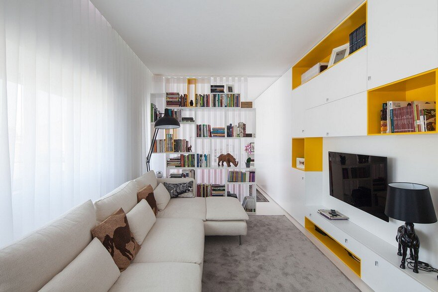 Inspiring Apartment Rehabilitation in Portugal by Spaceworkers