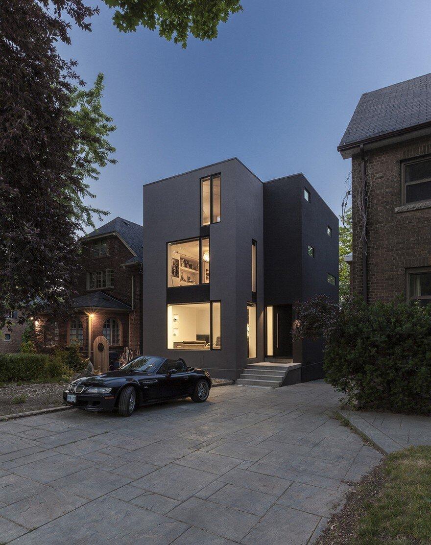Instar house minimalist three storey home by atelier rzlbd for Minimalist house instagram