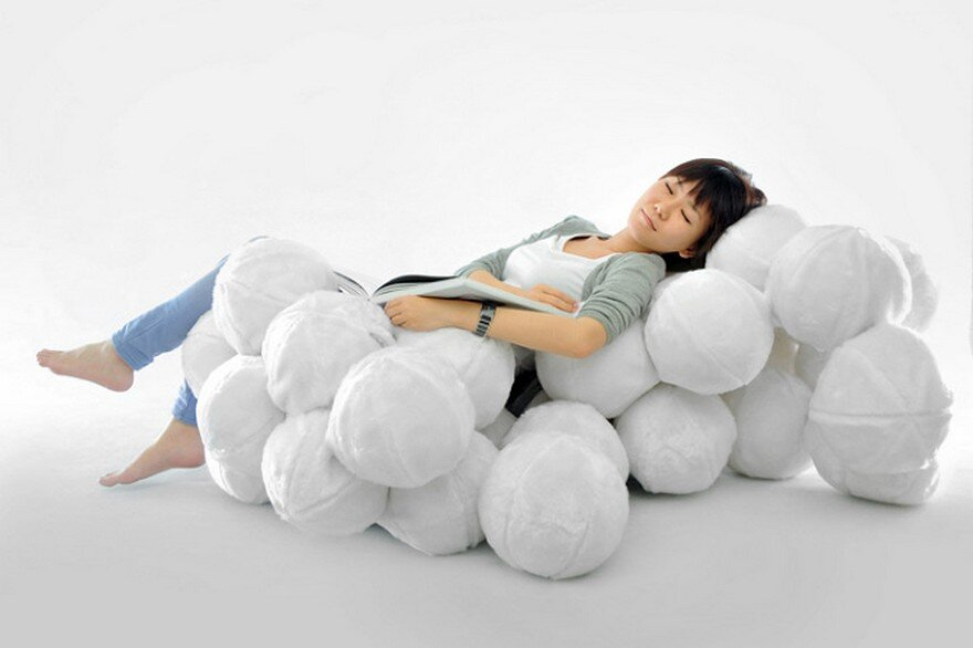 Indoor Leisure Chair Inspired By Clouds / Cheng Tsung Feng
