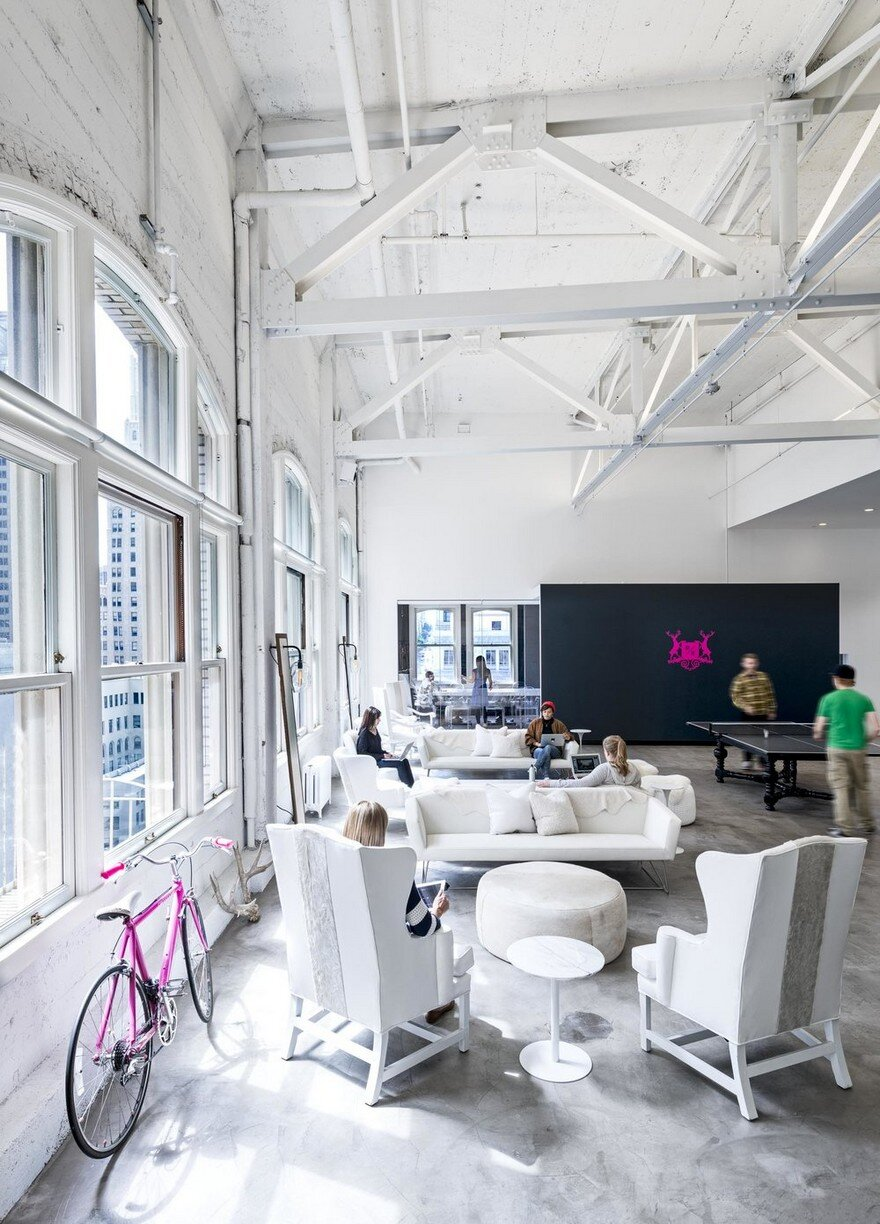 Mtzhf advertising agency offices in san francisco gensler for Interior design agency