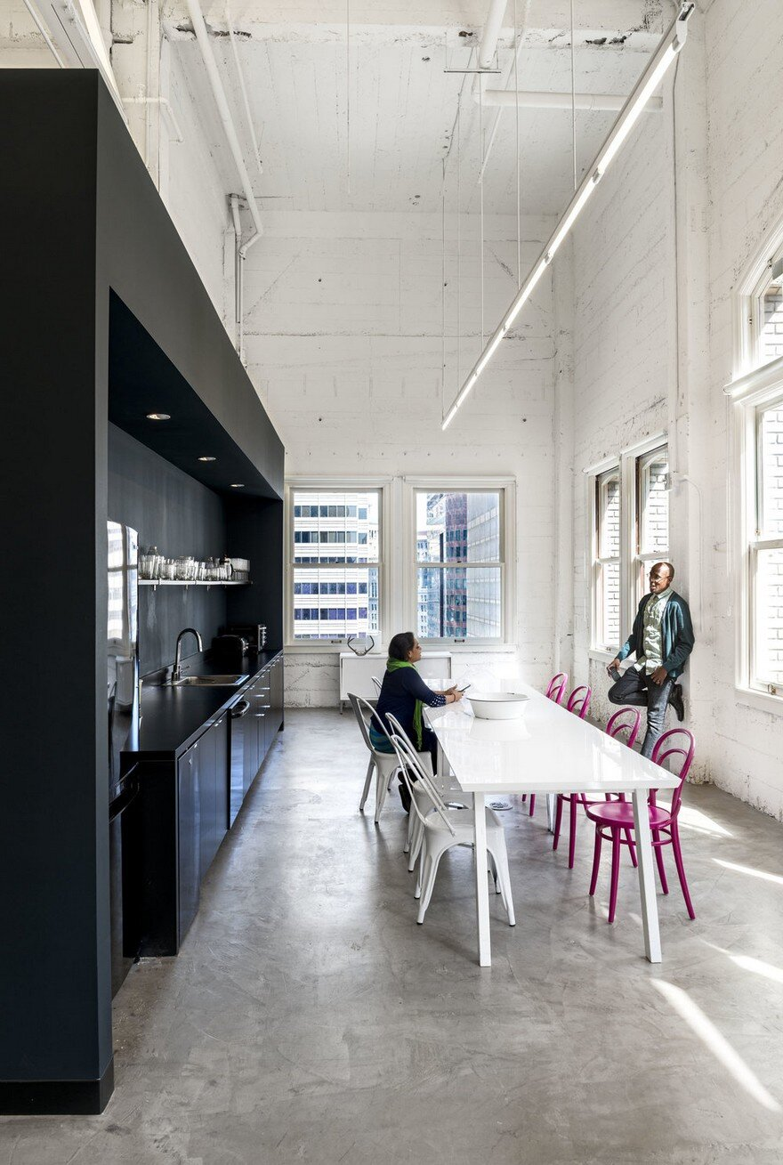 Mtzhf advertising agency offices in san francisco gensler for Space design agency