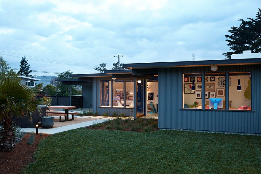 Mid-Mod Eichler Addition Remodel by Klopf Architecture
