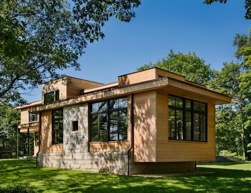 Modern Rustic House In Dutchess County New York
