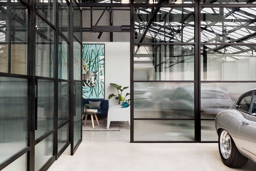 Modern warehouse conversion in melbourne biasol for Melbourne space design