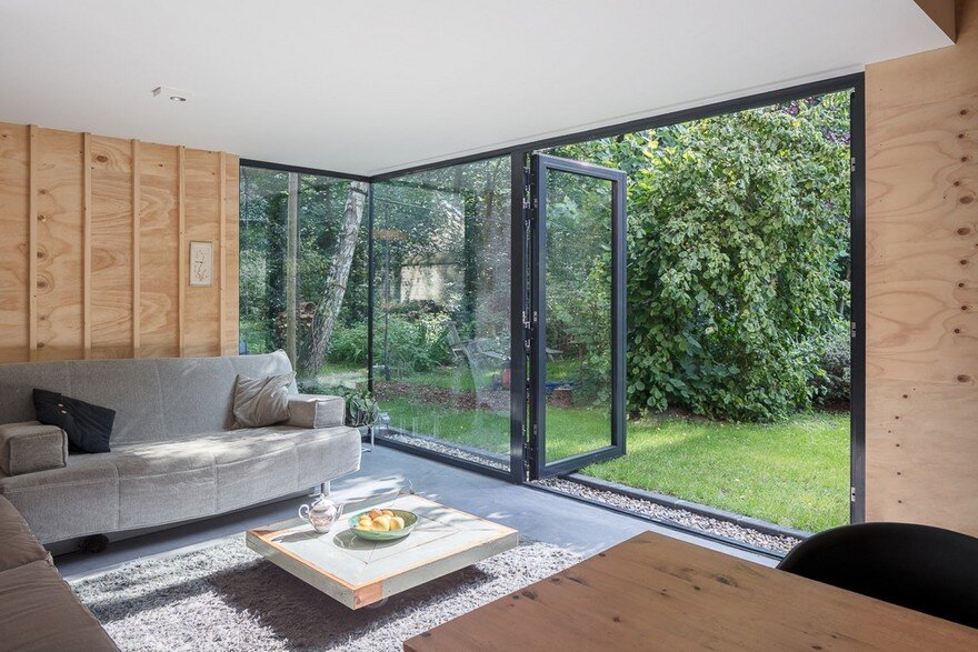 New Residential Pavilion Surrounded by Gardens