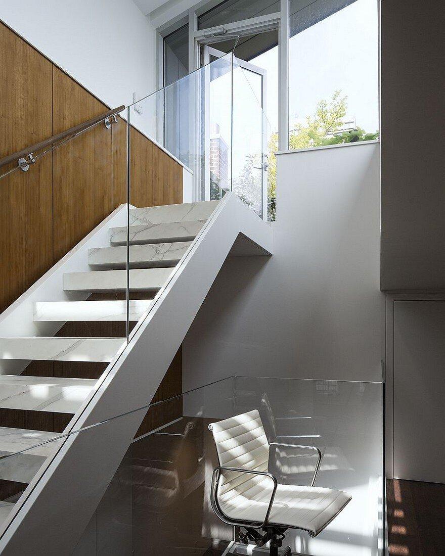 Triplex Apartment Renovation In New York Dxa Studio