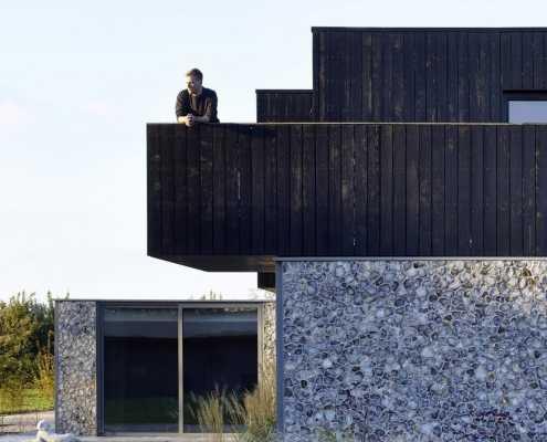 Oak Lane House in Rural Suffolk / Cassion Castle Architects