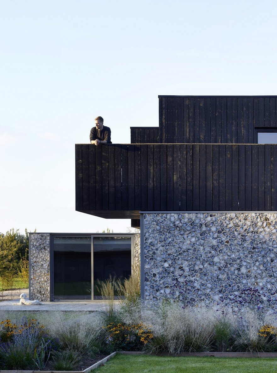 Oak Lane House In Rural Suffolk Cassion Castle Architects