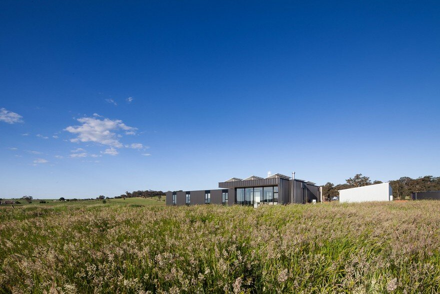 Off The Grid Sustainable House In Victoria S Central Highlands