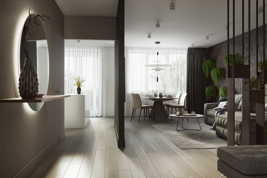 Ozernaya apartment in moscow buro 108 for Designburo aachen