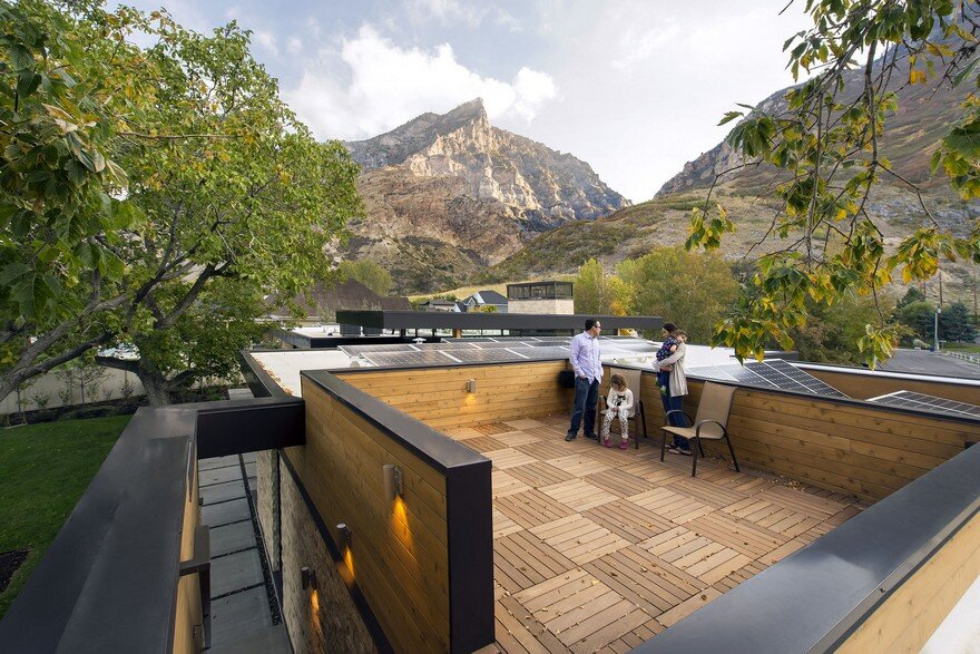 Rock Canyon House by Imbue Design